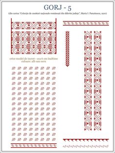 Popular Folk Embroidery Cum am cusut ia Gorj Blackwork Embroidery, Folk Embroidery, Learn Embroidery, Embroidery Stitches, Embroidery Patterns, Machine Embroidery, Celtic Cross Stitch, Cross Stitch Borders, Cross Stitch Flowers