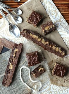 Peanut Butter Cup Crack Brownies - Cookies and Cups