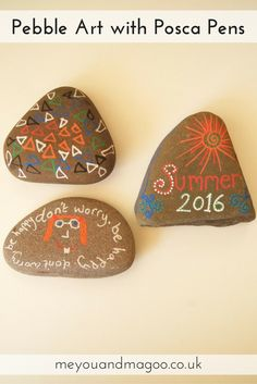 The musings of a child rearing craftaholic Pebble Painting, Pebble Art, Craft Projects, Crafts For Kids, Arts And Crafts, Messy Play, Beautiful Little Girls, Posca, Lovely Things