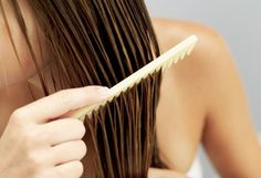 Ideas for Wet Hair - Styling Tips for Wet Hair - For curly hair:  Apply leave in conditioner, part your hair then divide into 6 sections.  create a pin curl of each section and secure with a clip.  In the morning, remove clips and lightly spritz. Bobby Pins, Hair Accessories, Beauty, Beleza, Cosmetology, Hair Pins, Hair Accessory
