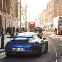 Driving Porsche