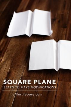 Square plane - great first plane and for learning to make modifications. Science Activities For Kids, Stem Science, Stem Activities, Kindergarten Science, First Plane, Transportation Theme, Play Based Learning, Summer School, Diy For Kids