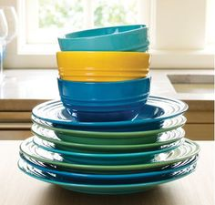 The colorful, collectable, Dinnerware Collection