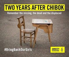 Image intégrée Bring Back Our Girls, Amnesty International, Human Rights, Campaign, Graphics, Twitter, Home, News, Graphic Design