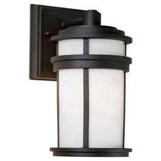Artcraft Lighting AC8082BK Columbia Outdoor Sconce