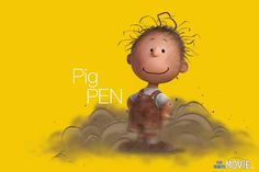 Peanut Pig Pen Charlie Brown Movie