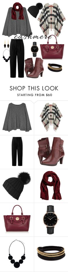 """total cashmere cool"" by viviana-candidi on Polyvore featuring The Row, Burberry, Acne Studios, Walking Cradles, Black, Hill & Friends, Topshop, Vita Fede and Isabel Marant"