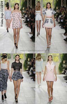 I want pretty: Paris Fashion Week Primavera-Verano 2014-Balenciaga.