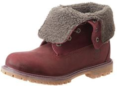 Timberland Women's Teddy Fleece Fold Down WP Ankle Boot,Burgandy,5.5 M US Timberland,http://www.amazon.com/dp/B00BCJZBXY/ref=cm_sw_r_pi_dp_mAQ9sb1AF1K3BCCT