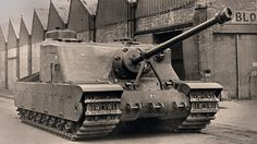 The Tank, Heavy Assault, Tortoise was a British heavy assault tank design developed in World War II but never put into mass production. The Tank, Heavy Assault, Tortoise wa Army Vehicles, Armored Vehicles, Tank Armor, Military Armor, Tank Destroyer, Armored Fighting Vehicle, Ww2 Tanks, Battle Tank, Tank Design