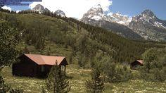 Teton Climbers Ranch webcam, Grand Tetons Summer!