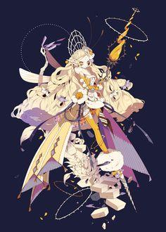「【PFNW】Honey Crown」/「しきみ」のイラスト [pixiv]