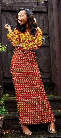 Fabric Express Dela (Iro and Buba). The Modern Iro and Buba. Wear it the tulip style or the normal way. Perfect for weddings, birthdays... any occasion really! Ankara | Dutch wax | Kente | Kitenge | Dashiki | African print dress | African fashion | African women dresses | African prints | Nigerian style | Ghanaian fashion | Senegal fashion | Kenya fashion | Nigerian fashion | Ankara crop top (affiliate)
