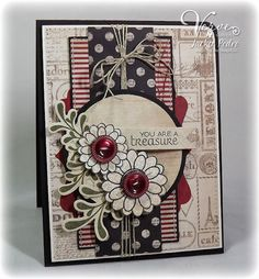 Love the colors and layout...Verve images, Jackie Pedro card