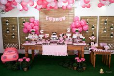 Minnie Mouse Birthday Party -Boutique Festas