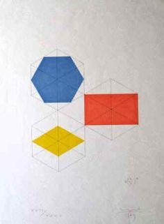 Bilder und Grafik( Serigraphien )des Künstlers Max Bill  in der Galerie Frank München kaufen