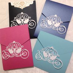 Listed by demand our Princess Carriage Pocket Seals are now ready in our Etsy Shop Make Any Invitation a Disney / Princess by NikaPaperworks on Etsy www.etsy.com/shop/nikapaperworks ENJOY!