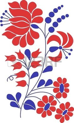 Illustration about Colorful flourish motif art. Illustration of copyspace, beauty, backdrop - 26255527 Chain Stitch Embroidery, Embroidery Stitches, Embroidery Patterns, Hungarian Embroidery, Folk Embroidery, Bordado Popular, Stitch Head, Bordado Floral, Motif Floral