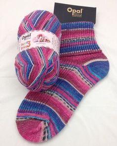 "Opal ""Sweet and Spicy 3"" Sock Yarn - Fruit Nougat (9120) - Woolstack"