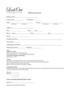 makeup artist contract template - - Yahoo Image Search Results