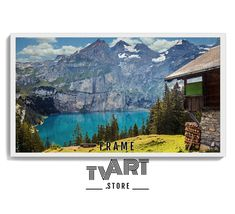 Samsung frame tv art Digital Mountain Lake 4k Art TV for Samsung Painting Art Tv Frame Tv Art, Instant Download #samsungframetvart #samsungframetv #frametvart #theframetv #samsungtv #artframetv #frametv #samsungtvframe #samsungarttv #tvframeart #samsungtvart #framearttv