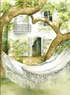 Marie-Claire Houmeau Life is a Hammock
