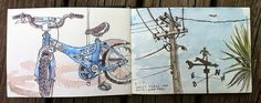 Bike and Lukes Place, Kuaotunu by Mr Dewhurst, via Flickr