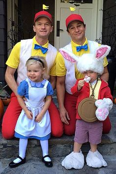 Alice in Wonderland - Neil Patrick Harrison and his family