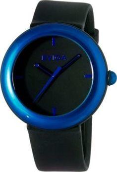 Cirkle Mens Watch Black Dial; Blue Bezel - www.stylesale.com