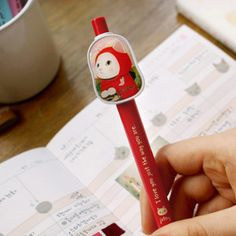 Cute pen and cat printed. Special gift ideas. Korean stationery.    http://www.morecozy.com