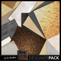 15 great textured papers in HD 300Dpi.