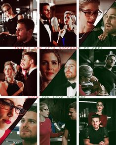 That's how it's supposed to feel when you love someone #Olicity #Arrow