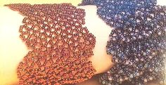 """Triangular Wave Bracelet""  - full translatable directions ~ Seed Bead Tutorials"