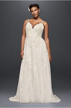 Browse Melissa Sweet's bridal collection at David's Bridal! Our Melissa Sweet wedding dresses come in stunning designs and the latest 2020 styles. Shop now! Bridal Party Dresses, Wedding Dress Styles, Bridal Gowns, Curvy Wedding Dresses, Davids Bridal Plus Size, Plus Size Wedding Gowns, Melissa Sweet, Bodice Wedding Dress, Curvy Bride