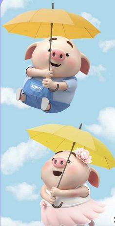 Pig Wallpaper, Snoopy Wallpaper, Cartoon Wallpaper Hd, This Little Piggy, Little Pigs, Cute Piglets, Wonder Art, Pig Illustration, Animated Dragon