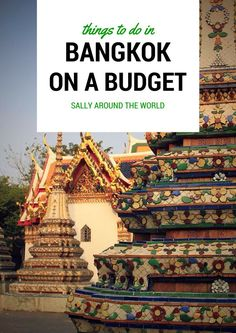 Things to do in Bangkok on a Budget