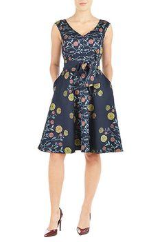 I <3 this Marilyn dress from eShakti