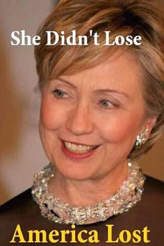 North, South, East, West. Hillary Clinton is the best. We love you Hillary!!!