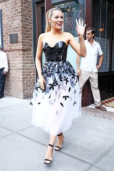 Blake Lively in Carolina Herrera