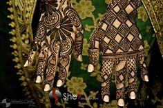 Latest Collection of Designer Bridal Mehndi Designs (Arabic Mendi Designs) | GenCept | Addicted to Designs