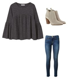 """""""Untitled #215"""" by ybba-do on Polyvore featuring MANGO, Frame Denim and MICHAEL Michael Kors"""