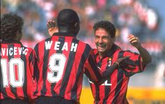 Damn, we had Baggio, Weah and Savicevic...