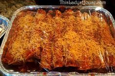 Simple Beef Enchiladas | My kids like these WAY better than Chicken Enchiladas!