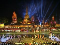 January Festivals in Thailand - Asia Backpackers Ayutthaya World Heritage Fair 2017
