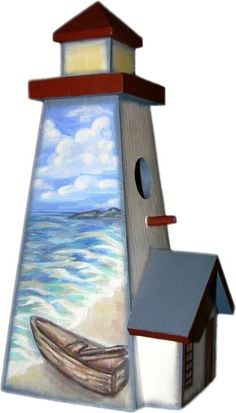 Image detail for -Design Choice Communications Portfolio: Decorative Painted Lighthouse