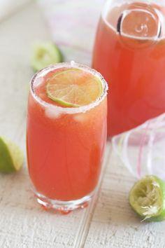 Strawberry Lemonade | Feed Your Temptations