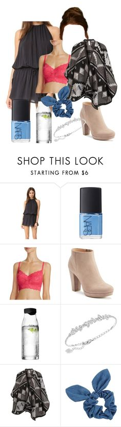 """Untitled #972"" by dancer-sos on Polyvore featuring Blue Life, NARS Cosmetics, Cosabella, LC Lauren Conrad, Menu, Swarovski, VILA and Dorothy Perkins"