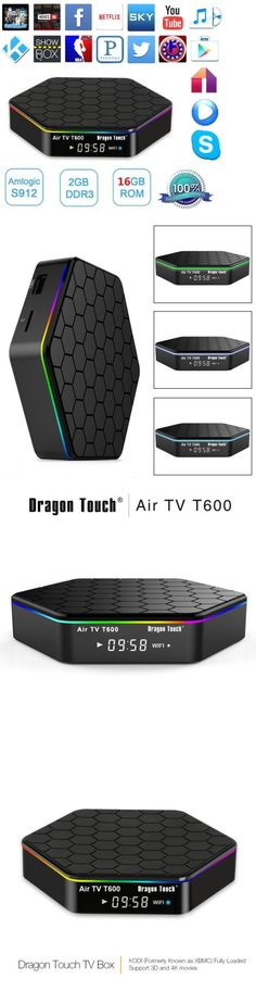 Internet and Media Streamers: T95z Plus 4K Smart Tv Box Amlogic S912 Octa Core Android 6.0 2G+16G 2.4G/5G Wifi BUY IT NOW ONLY: $61.95