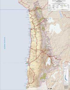 MAPAS & RUTAS DE CHILE – Encuentra toda la informacion de mapas, rutas y planos de carreteras, localidades y ciudades de todo Chile en un solo lugar