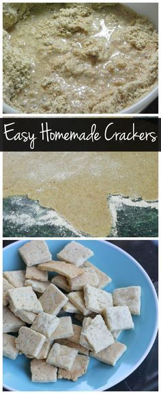 Homemade crackers ar